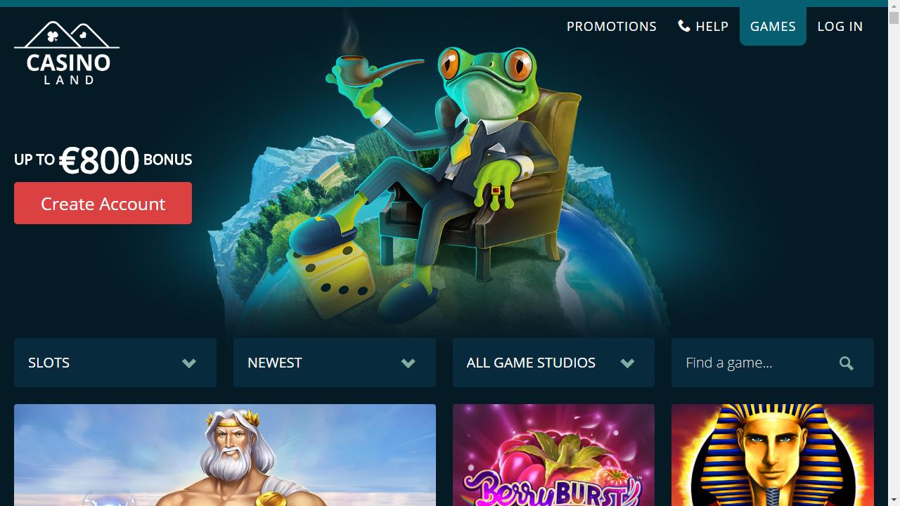 Casinoland Homepage