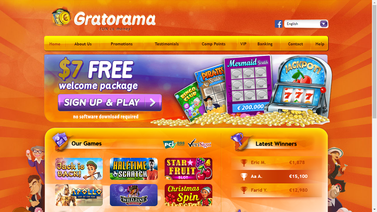 Gratorama Homepage