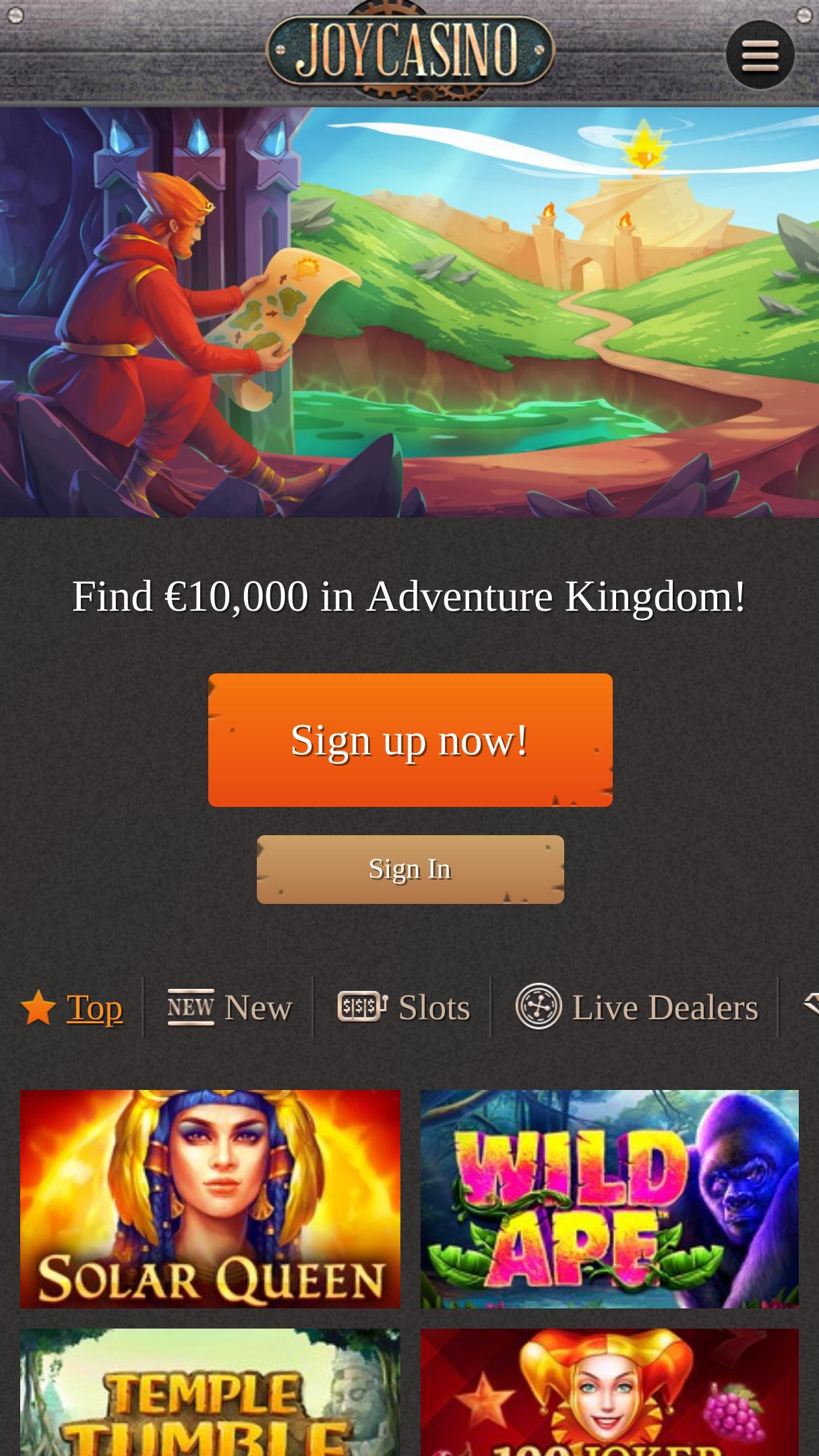 официальный сайт бонус код джой казино 2018