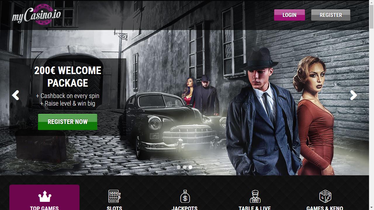 myCasino Homepage