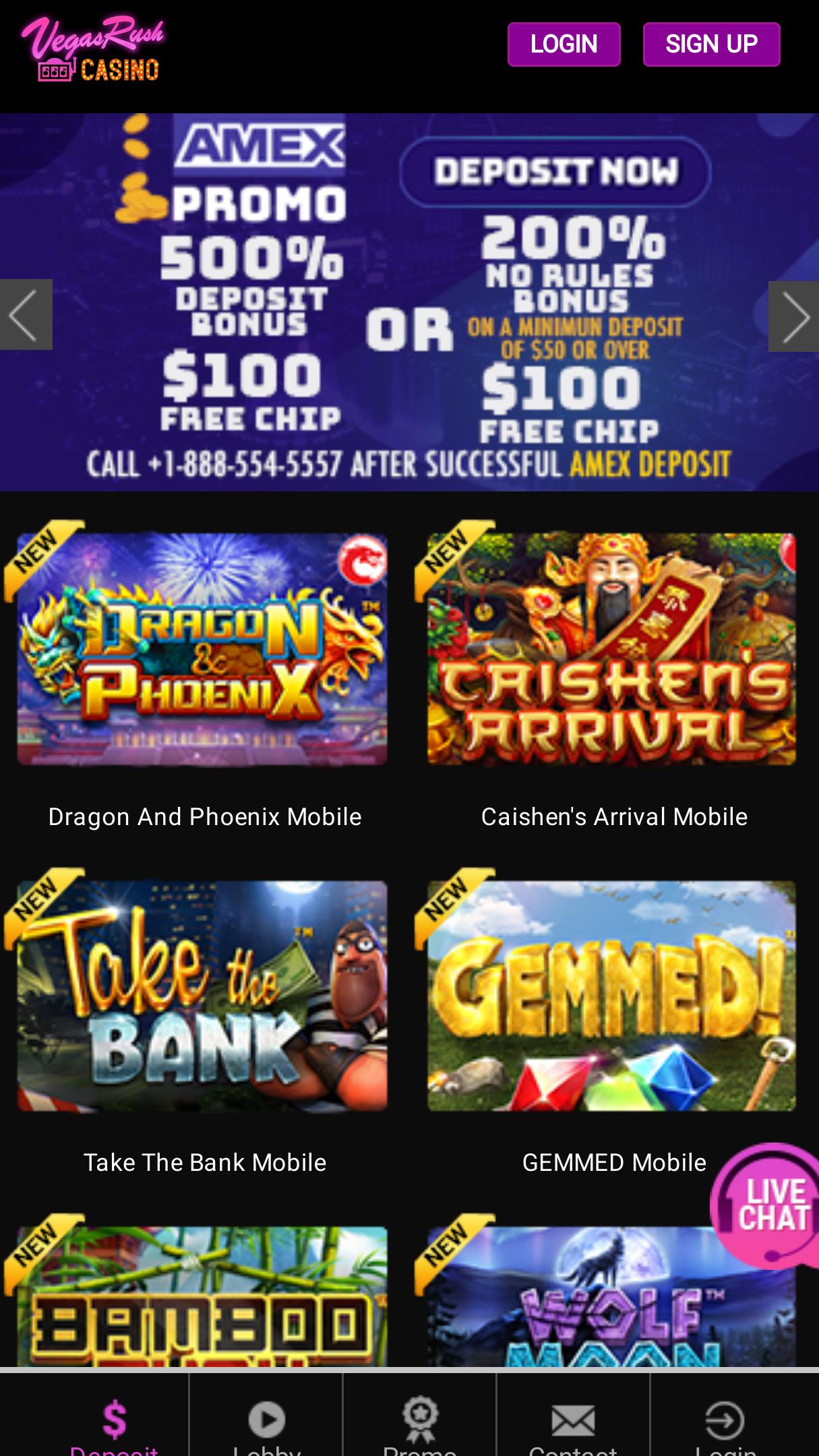 Superlines Casino Bonus Code