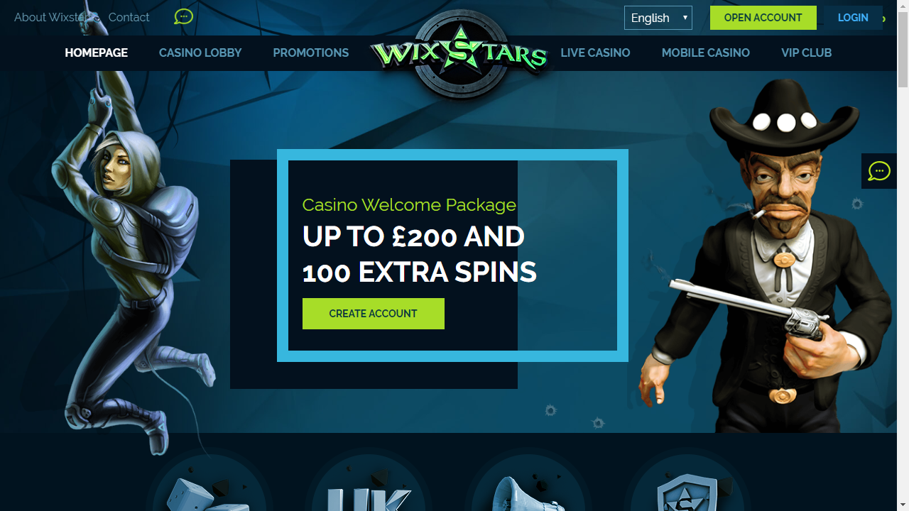 Wixstars Homepage