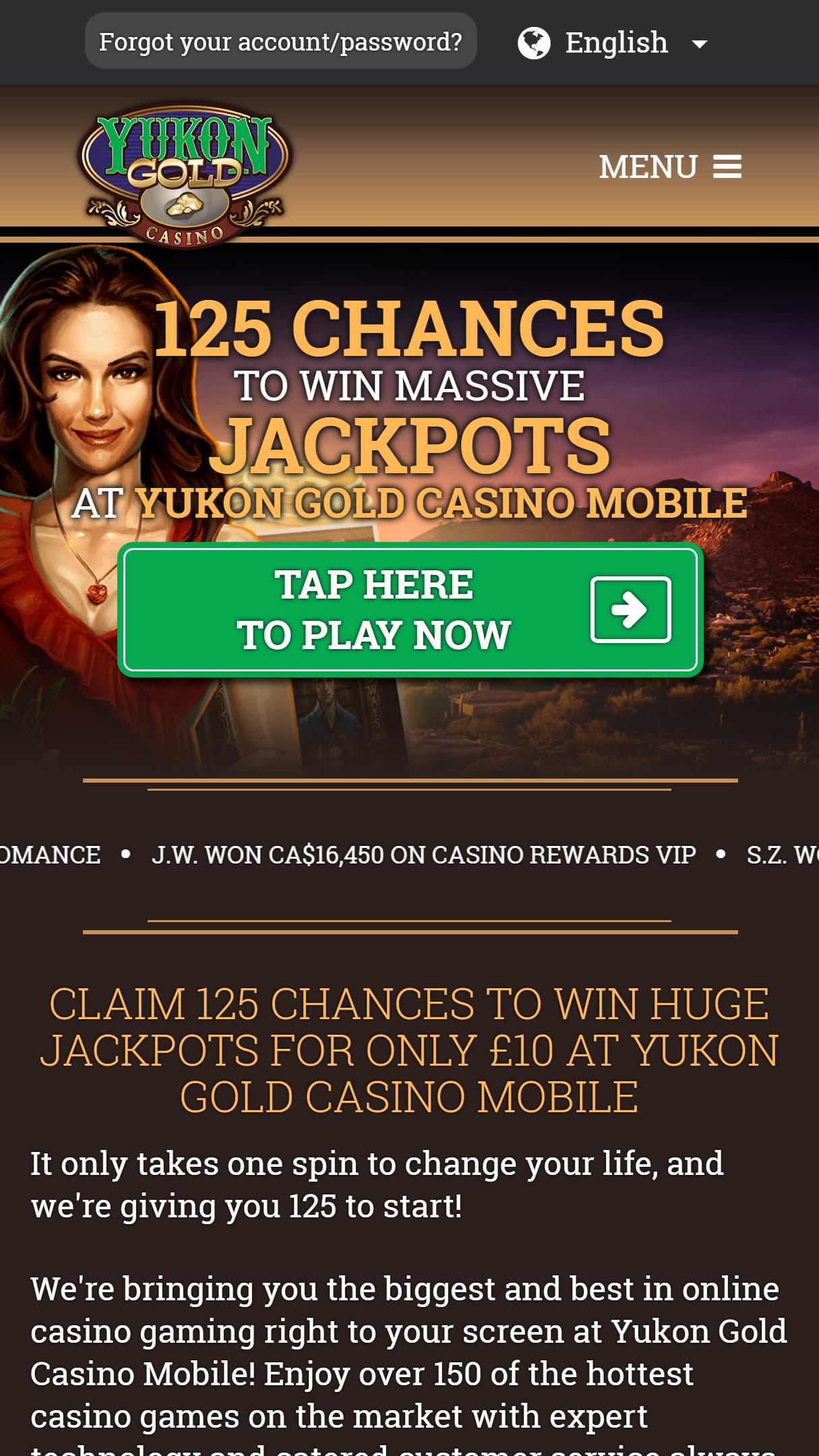Club Gold Casino Bonus Code