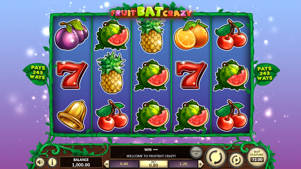 BetSoft Fruit Bat Crazy Slot Review