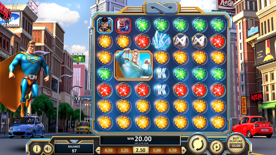 BetSoft Spinfinity Man Slot Review