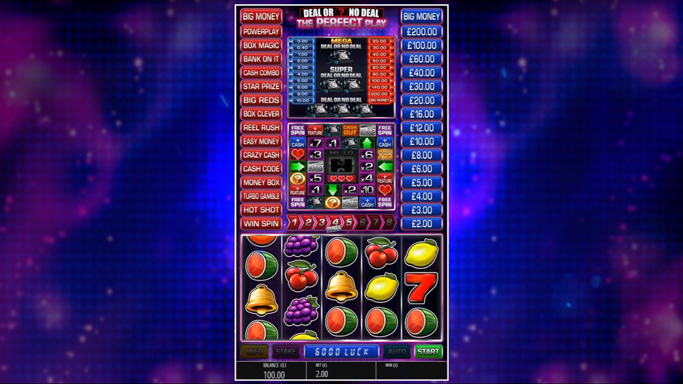 Blueprint Gaming Deal or No Deal: The Perfect Play Slot Review