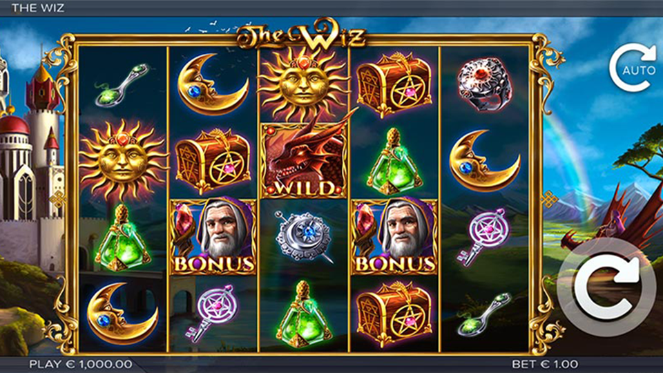 Elk Studios The Wiz Slot Review