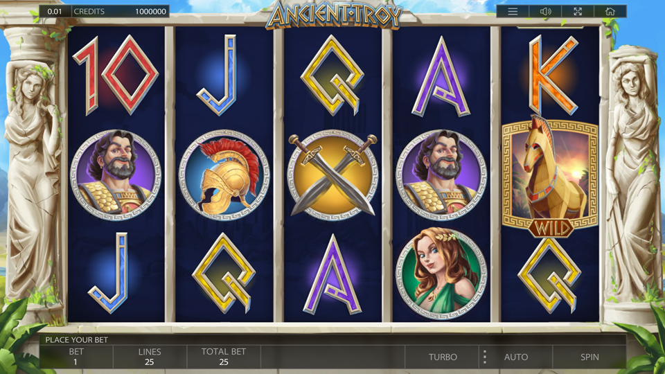 Endorphina Ancient Troy Slot Review