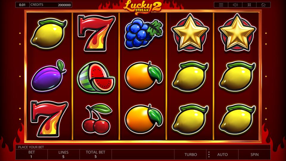 Endorphina Lucky Streak 2 Slot Review