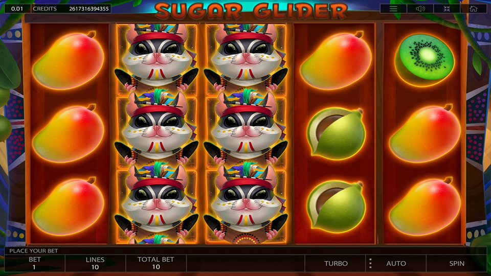 Endorphina Sugar Glider Slot Review