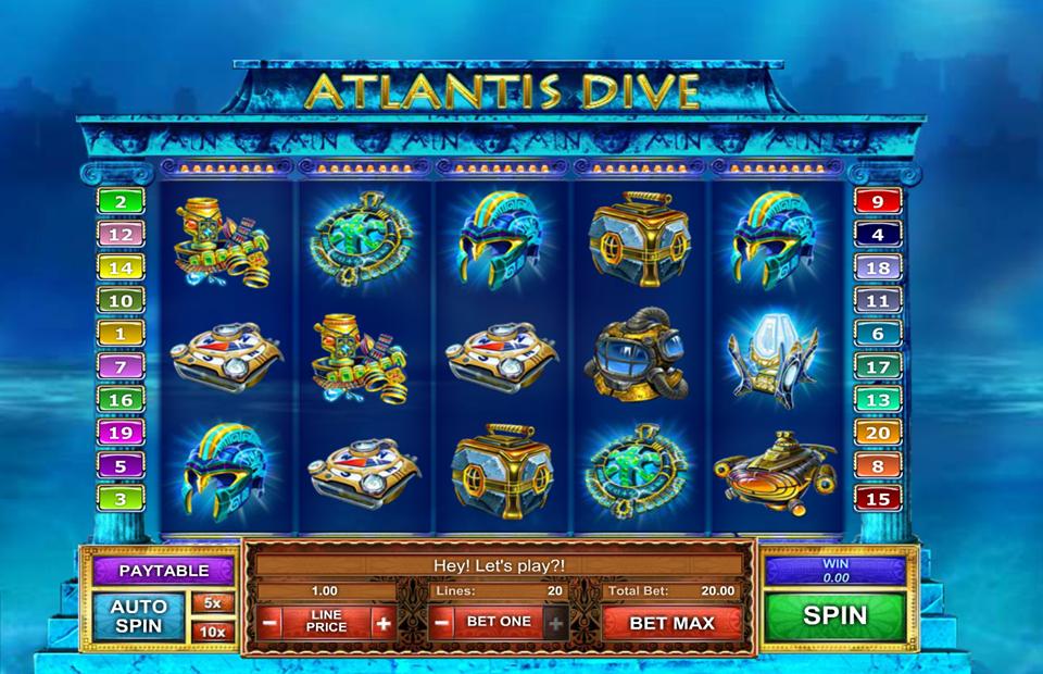 Atlantis Dive mobil
