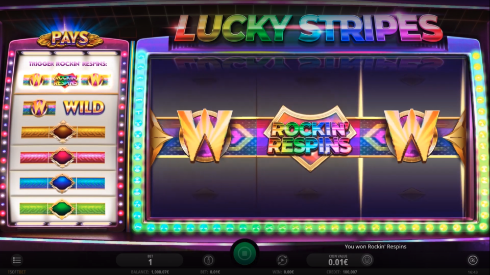 iSoftBet Lucky Stripes Slot Review