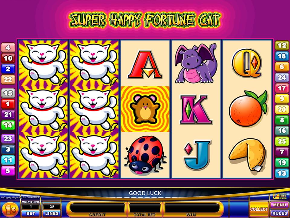 Super Happy Fortune Cat