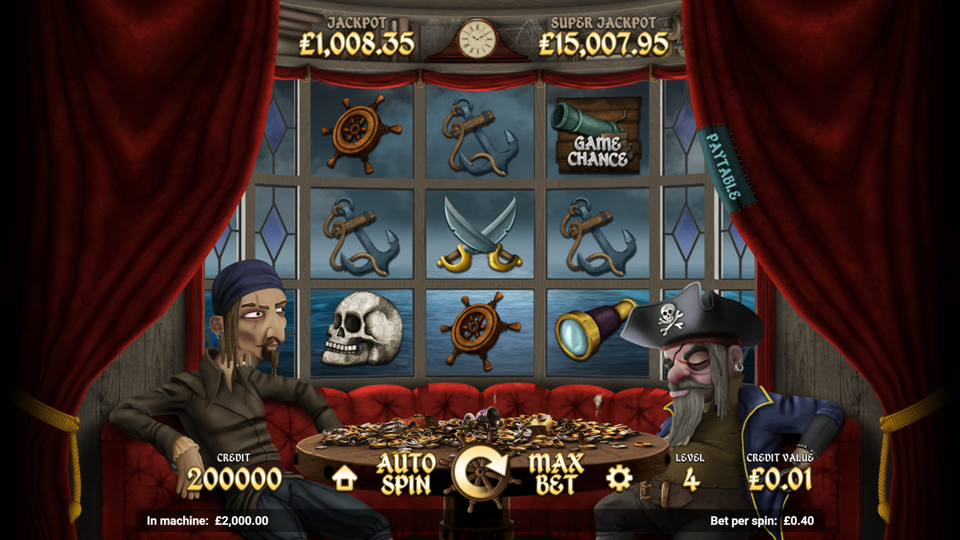 Magnet Gaming Pirate Tales Slot Review