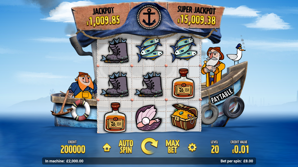 Magnet Gaming The Great Catch Slot Review