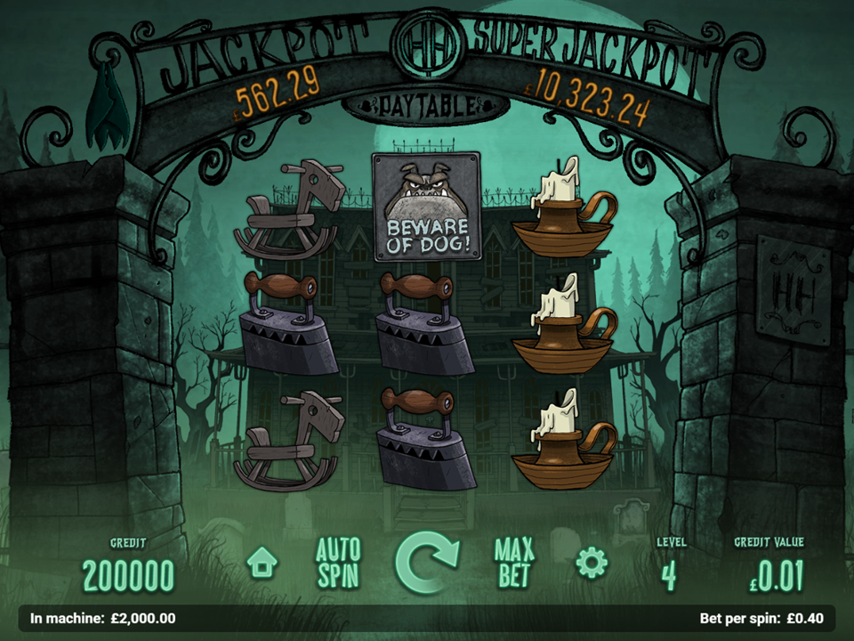 Magnet Gaming Haunted House Slot Review