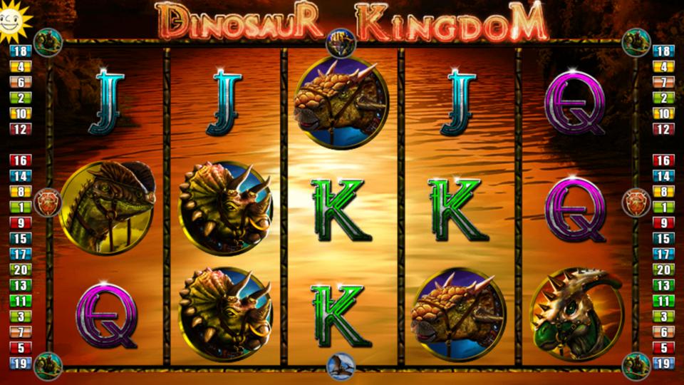 Edict (Merkur Gaming) Dinosaur Kingdom Slot Review