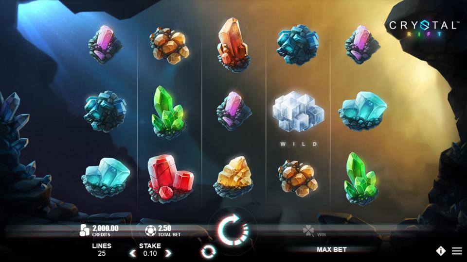 Microgaming Crystal Rift Slot Review