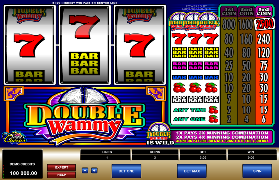 Microgaming Double Wammy Slot Review
