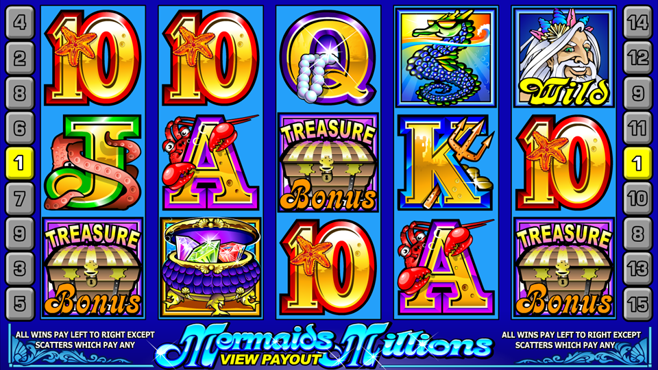 Microgaming Mermaids Millions Slot Review
