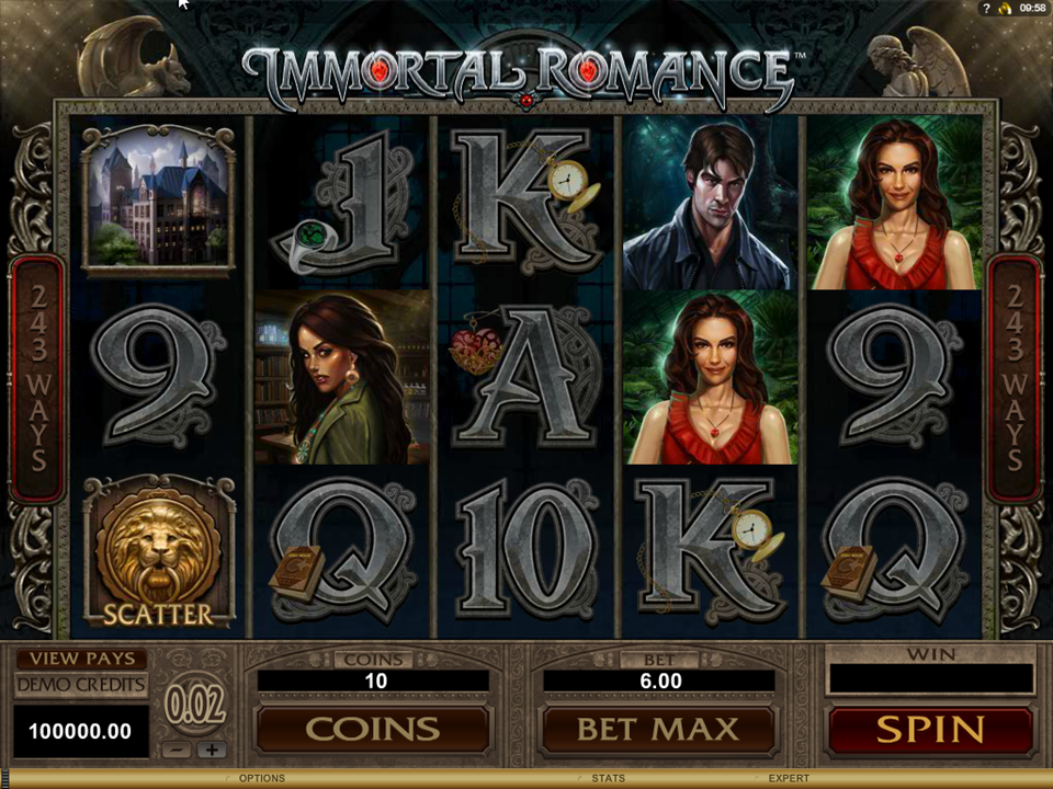 Microgaming Immortal Romance Slot Review