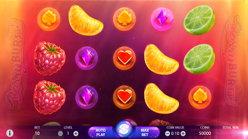 NetEnt Berryburst Slot Review