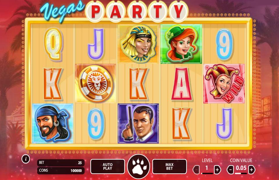 Vegas Party mobil