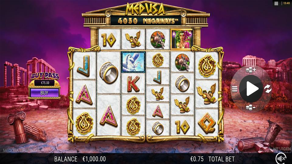 NextGen Gaming Medusa Megaways Slot Review