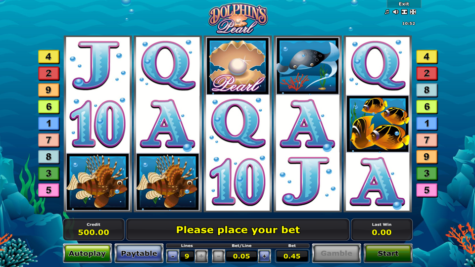 Novomatic Dolphin's Pearl Slot Review