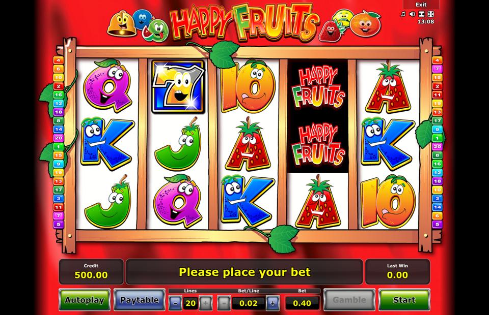 Happy Fruits Slot