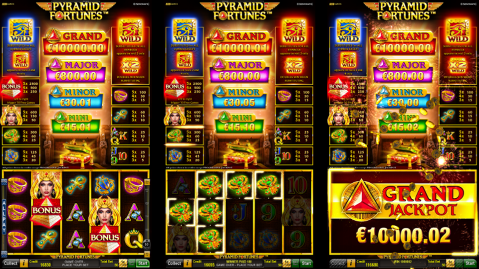 Novomatic Pyramid Fortunes Slot Review
