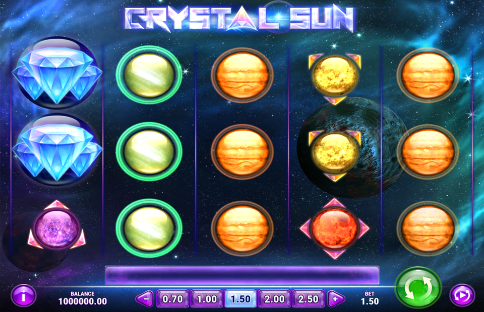 Play'n Go Crystal Sun Slot Review