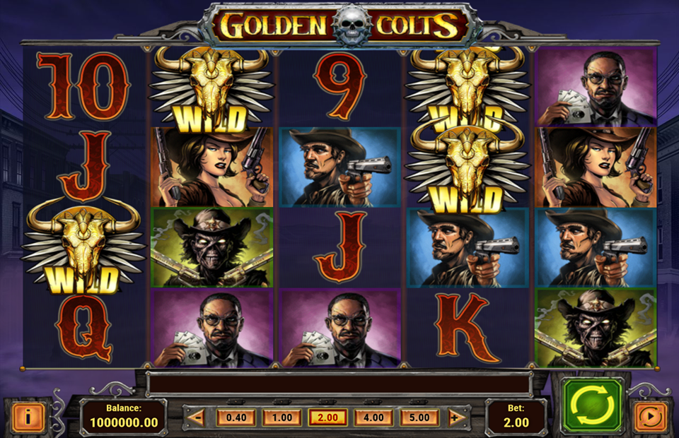 Play'n Go Golden Colts Slot Review
