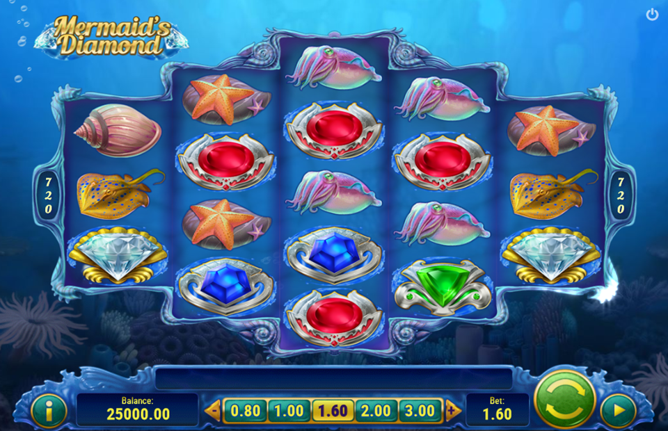 Play'n Go Mermaids Diamonds Slot Review