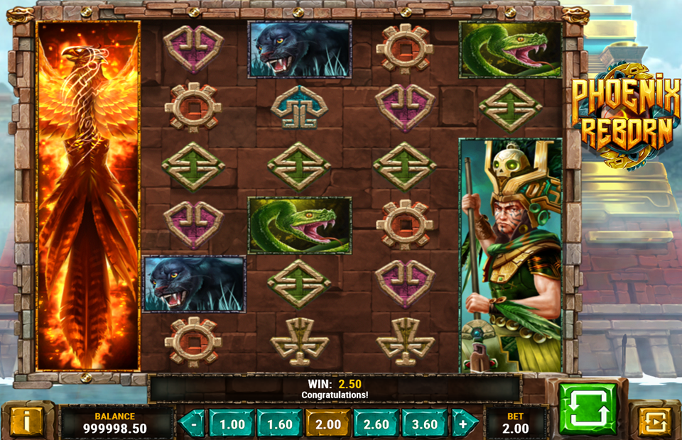 Play'n Go Phoenix Reborn Slot Review