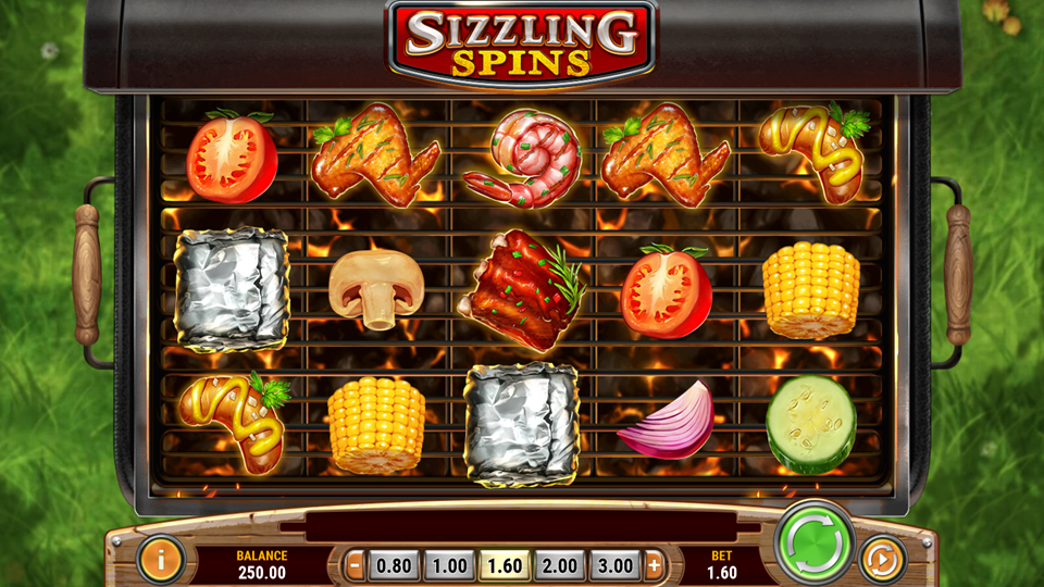 Play'n Go Sizzling Spins Slot Review