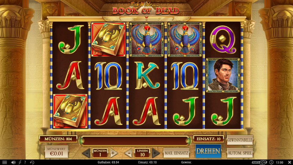Play'n Go Book of Dead Slot Review