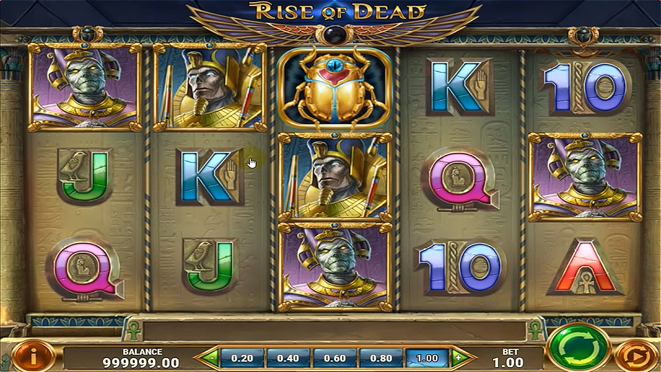 Play'n Go Rise of Dead Slot Review