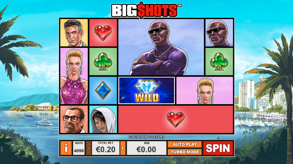 Playtech Big Shots Slot Review