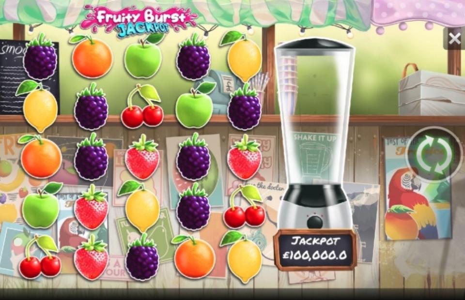 Playtech Fruity Burst Jackpot Slot Review
