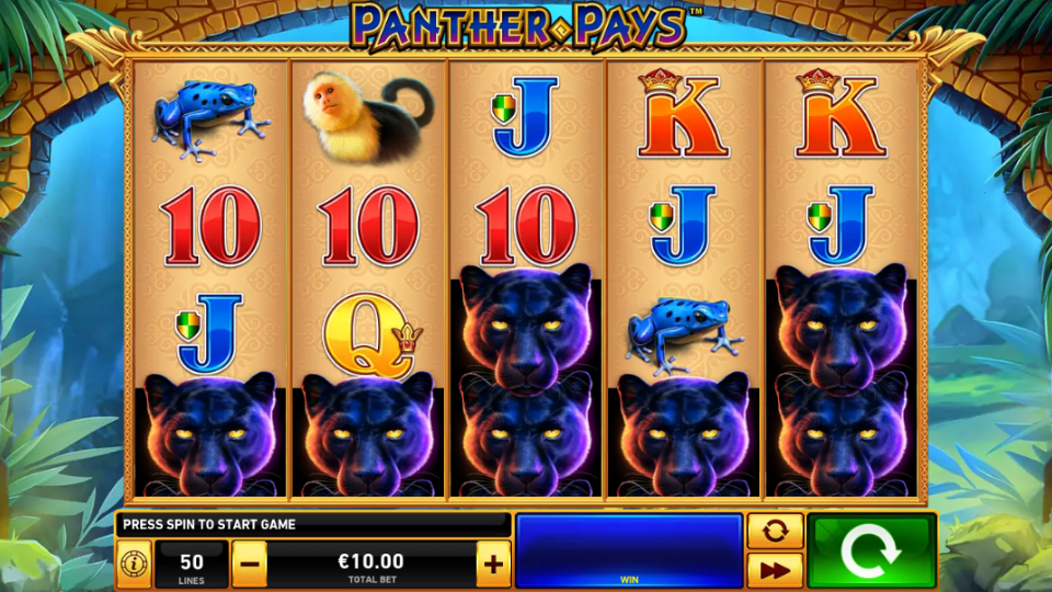 Playtech Panther Pays Slot Review