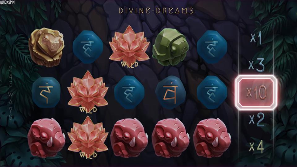 Quickspin Divine Dreams Slot Review