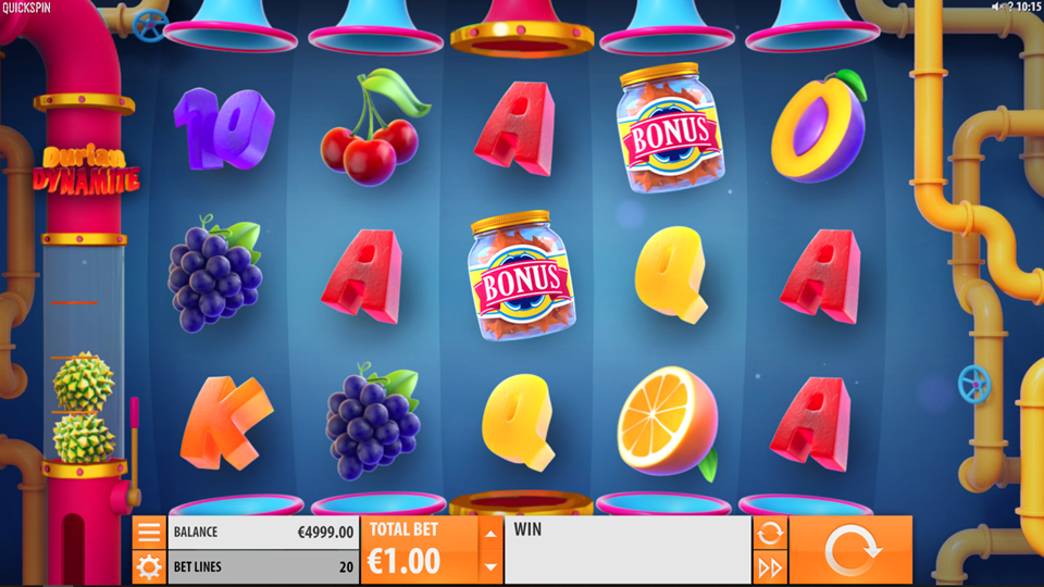 Quickspin Durian Dynamite Slot Review
