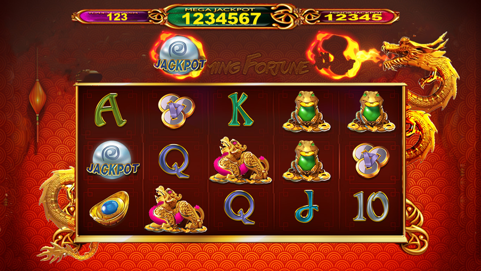 Quickspin Flaming Fortune Slot Review