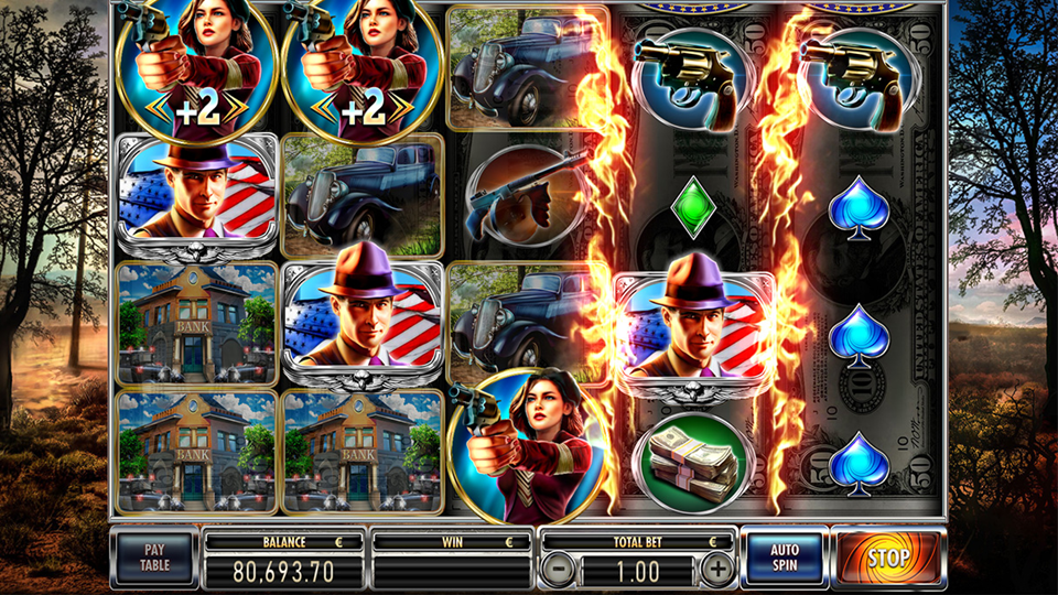 Red Rake Gaming Bonnie & Clyde Slot Review