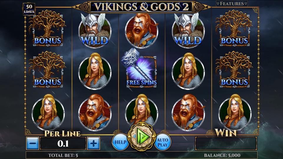 Spinomenal Vikings & Gods 2 Slot Review