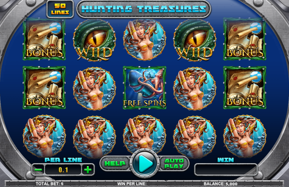 Spinomenal Hunting Treasures Slot Review