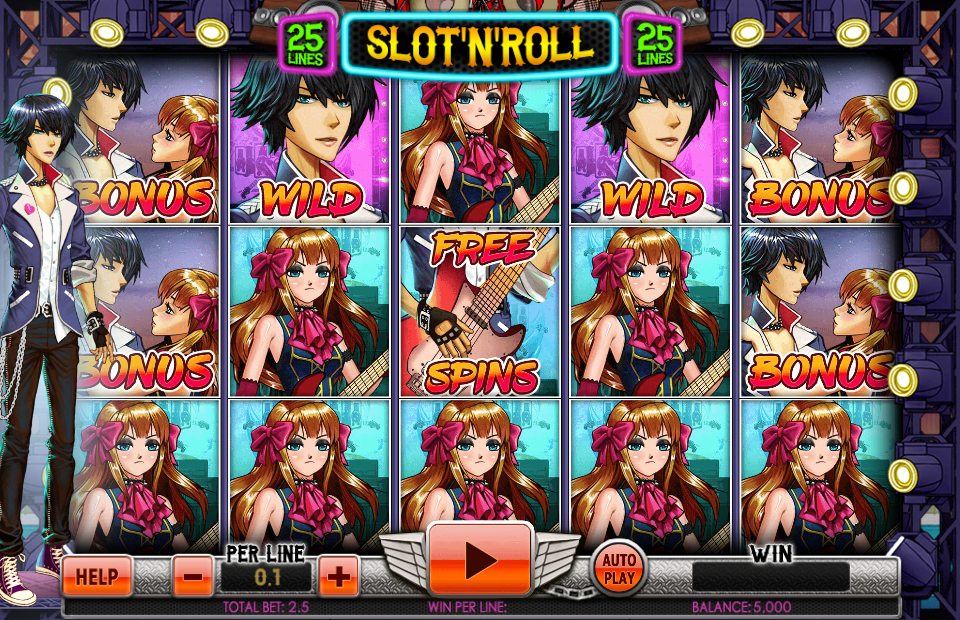 Spinomenal Slot'N'Roll Slot Review