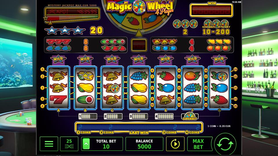 Stakelogic Magic Wheel 4 Player Slot Review