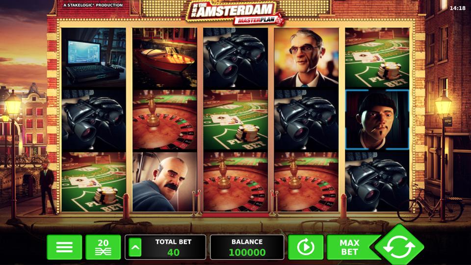 Stakelogic Amsterdam Masterplan Slot Review
